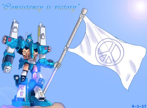 Ultra Magnus (Pride Month) by CynthiaLyn