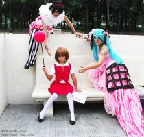 VOCALOID DARK WOODS CIRCUS COSPLAY by Omegaloids