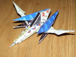 Arwing Papercraft by Sunagirl