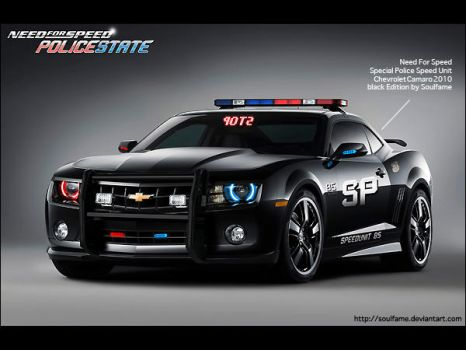 Chevrolet Camaro Police by Soulfame