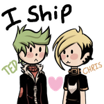 I ship Ted x Chris by Bratcole