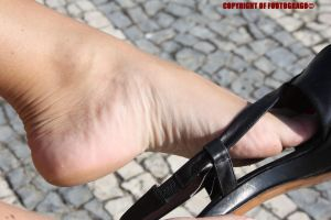 Fedra Removing Shoe 7 by Footografo