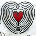 Street Art / Love is a labyrinth by Johnny-Aza