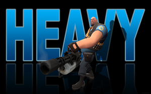 Blu Heavy - black wallpaper by The-Loiterer