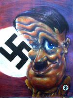 hitler by kwee85