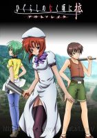 Higurashi No Naku Koro Ni Outbreak by Shady-Dragon