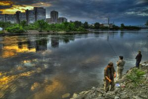 Fishing for Hope by RavenGraphics