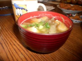 Miso Soup by Sagojyousartpage