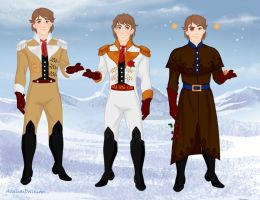 YHS' Snow n Magic-Light Yagami as Hans outfits by YuiHarunaShinozaki