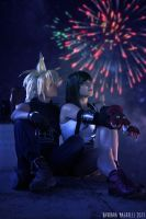 Cloud and Tifa - The Promise by XenoLink