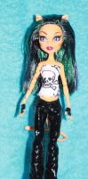 Monster High ooak Talon by rainbow1977