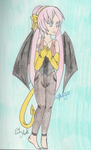 Vocaloid - Pink Haired Demoness by SwiftNinja91