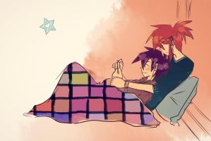 rc9gn: Snuggles by arrival-layne