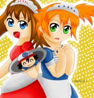 PokeAdv: Maid for each other by Little-MissMidnight
