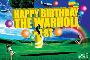 the warholl 1 anniversary by pascreative