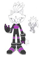 Blaze alt. Rivals outfit by LeatherRuffian