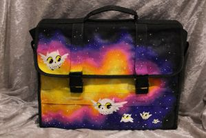 Custom Owl Shoulder Bag by Forge-Your-Fantasy