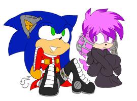 Sonic and Julie-su Main Colour by ncond3