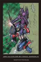 CAPY_AND_HAWK-COLOR by garzahinojosa