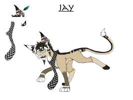 Jay the Cat by Crystalstripe