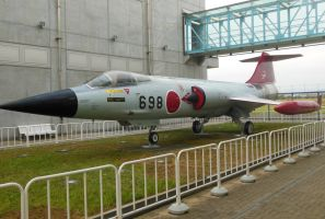 JASDF Lockheed F-104J Starfighter by rlkitterman
