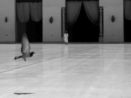 In the Mosque by alyhazzaa
