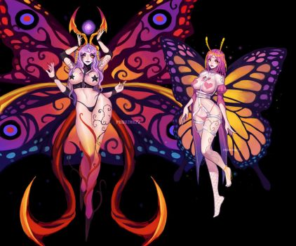 Sexy Butterfly Commission by PuddingzZ