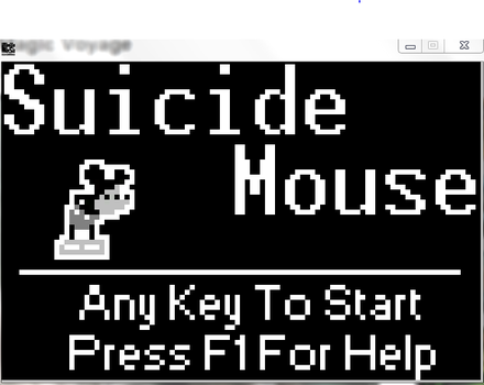 Suicide Mouse( mickey Mouse) by Kristentc77