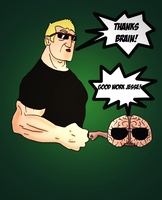 Jesse and Brain by Yshmeel