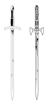 Paladin Swords by ad1066
