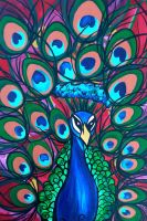 Impervious Mr Peacock by Poppyprincess23