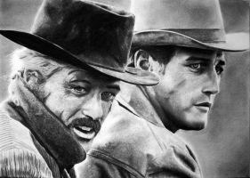 Butch CASSIDY and the Kid by Sadness40