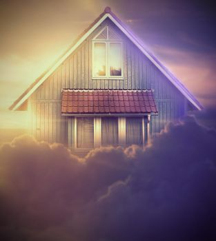 Home Sweet Home! (Cloud House modification) by everson4