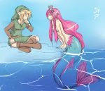 Link And Mirage by ManiacPaint