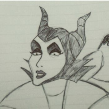 Malificent by Cazzah1990