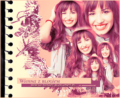 Demi Lovato layout 6 by shokobom94