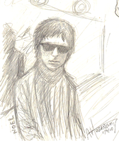 noel gallagher by little-ampharos