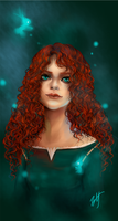 Princess Merida by Weiyua