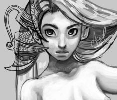 Aquarius wip by AcyeL