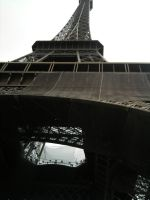 The Eiffel Tower by PucchiPuchi