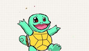 Squirtle! by stitchy-alice