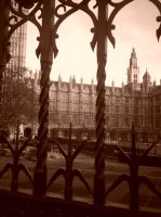 London Houses of Parliament by kelequinn