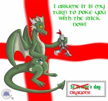 St George's Day 2014 (Dragon's Day) by clashmecha
