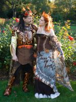 Oberon and Titania by BelovedUnderwing