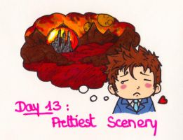 Art Challenge 13: Doctor Who (Prettiest Scenery) by WhatItMeansToBeHuman