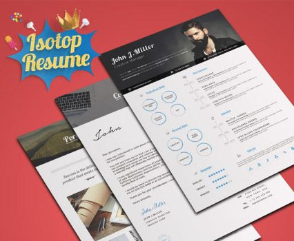 Isotop Resume by khaledzz9
