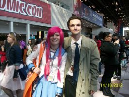 Me and Cas at NYCC! by thewaywardsoldier