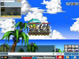 Maple Story Screen Shot by wingzero5018