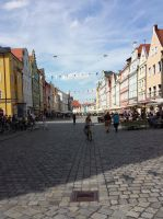 Mainstreet of Landshut by Arminius1871