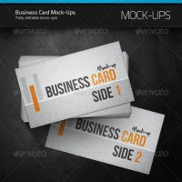 Business Card Mock-up by artnook